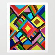 Color Play Art Print