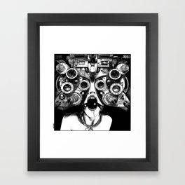 asc 712 - Le masque de la Méduse (Object woman) Framed Art Print