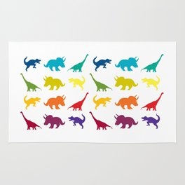 Dino Parade Rug