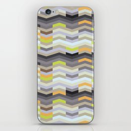 Modern Chevron - Fresh Green iPhone Skin