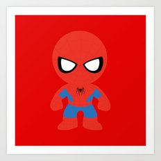 Where's my web? Art Print