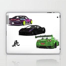 Vectored Cars Laptop & iPad Skin