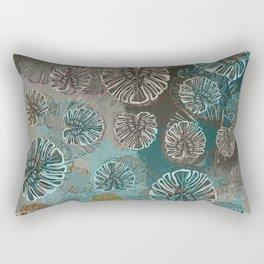 Monstera Style Rectangular Pillow