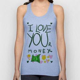 MONEY Unisex Tank Top