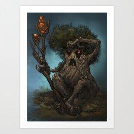 treeking Art Print