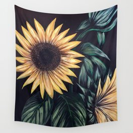 Sunflower Life Wall Tapestry