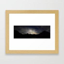 Cerro Catedral Framed Art Print