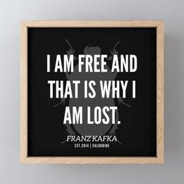 7  |  Franz Kafka Quotes | 190517 Framed Mini Art Print