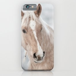 Horse Print iPhone Case