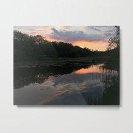 Reflecting on Reflection Metal Print