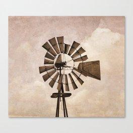 Iowa Windmill Canvas Print