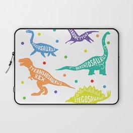 Dinosaur Childrens Kids Triceratops T-Rex Tyrannosaurus Rex Laptop Sleeve