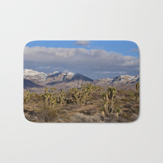 Winter in the Desert Bath Mat
