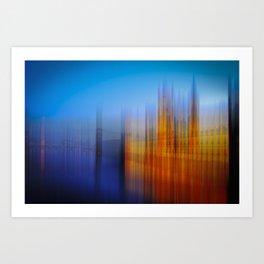 Westminster colours Art Print