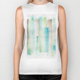 180713 Watercolor Play 1| Watercolor Brush Strokes Biker Tank