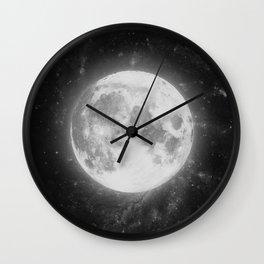 The Moon 2 Wall Clock