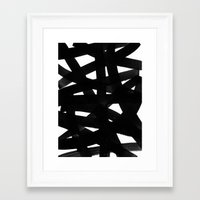 georgiana paraschiv Framed Art Prints featuring TX02 by Georgiana Paraschiv