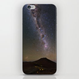 Milky Way in Chile 2 iPhone Skin