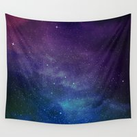 universe Wall Tapestries featuring Universe by Space99
