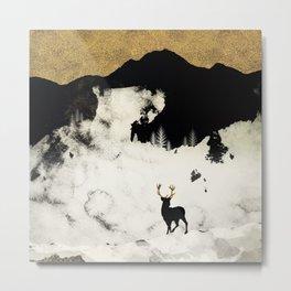 Winter Silence Metal Print