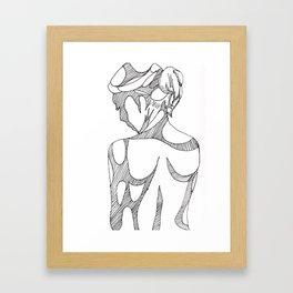 Forming Framed Art Print