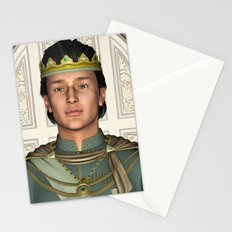 Prince in Fairytale Palace Stationery Cards