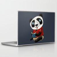 panda Laptop & iPad Skins featuring Panda by gunberk