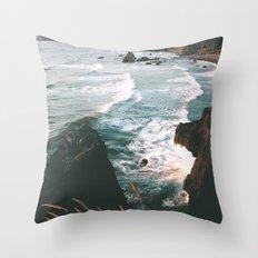Oregon Coast IV Throw Pillow