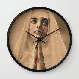 NO COMFORT HERE II Wall Clock