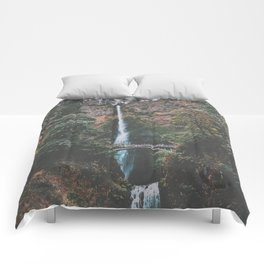 Majestic Multnomah Falls Comforters