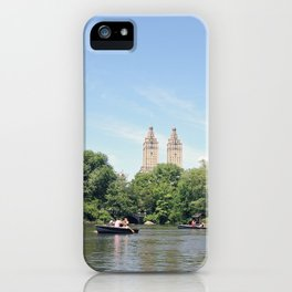 Central Park Lake iPhone Case