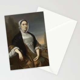 John Singleton Copley - Sarah Tyler (Mrs Samuel Phillips Savage) Stationery Cards