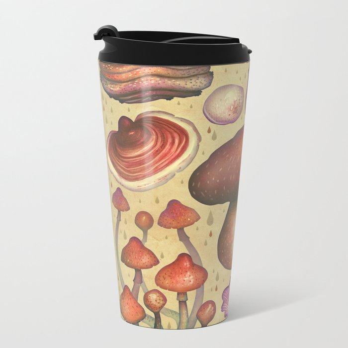 Regnum fungorum Metal Travel Mug