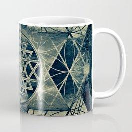 Sacred Geometry for your daily life- SRI YANTRA Coffee Mug