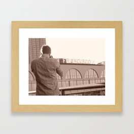 Picture Of A Picture  Framed Art Print