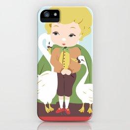 Porcelain Boy (Blond) iPhone Case