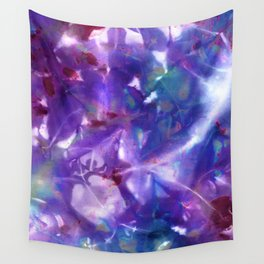 Blue Stargazer Floral Wall Tapestry