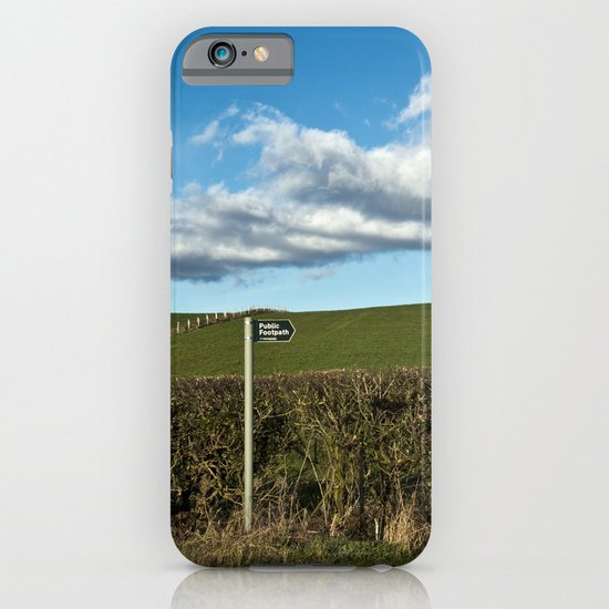 a place for the public... iPhone & iPod Case