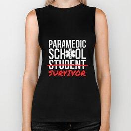 Paramedic School Graduation Gift TShirt Student Survivor Biker Tank