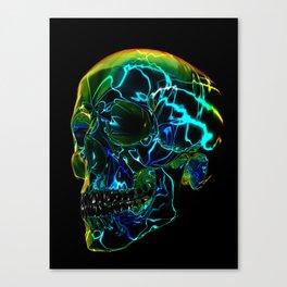 Electric Yorick Canvas Print