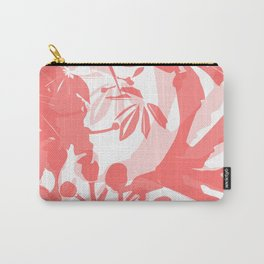 BC coral silhouette Carry-All Pouch