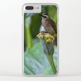 Breakfast for One Clear iPhone Case