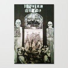FuneralMetal Canvas Print