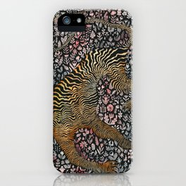 Headless tiger iPhone Case