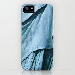 Lady Liberty's Robe #1 iPhone Case