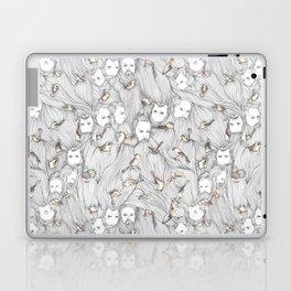 The Birds & The Beards Laptop & iPad Skin