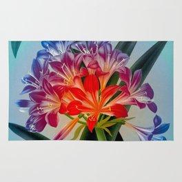 Colorful Flower Bulb Rug