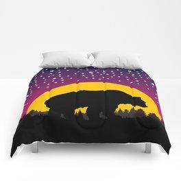 Bear Stars Moon Comforters