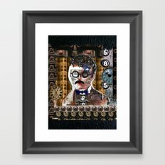 The Mad Professor Framed Art Print