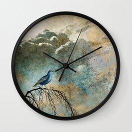 HEAVENLY BIRD II Wall Clock